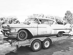 1955 to 1959 Cadillac Car Parts * Faded Fins Cadillac Parts